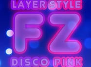 Disco Pink Layer Estilo