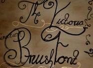 Victoria lettertype borstel