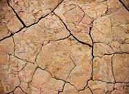 Texture de boue fissurée