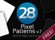 28 Pixel Patterns v.7