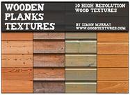 Texturas de tablones de madera