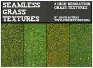 Texturas sin costura de hierba verde