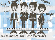 Die Beatles Pinsel