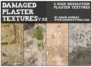 Damaged Plaster Textures Vol.02