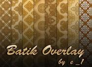 Sobreposição batik por e_1