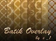 Batik Overlay von e_1