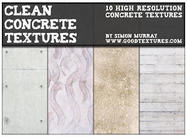 Saubere konkrete Texturen