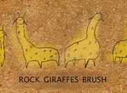 Rock Giraffes Brushes