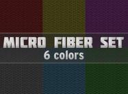Conjunto de patrones de microfibra