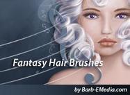 Escovas de cabelo de fantasia