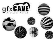 Pinceaux 3D Spheres