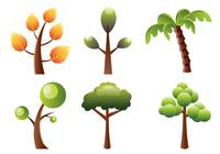 Gestileerde Bomen Brush Pack