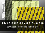 3D-kubemönster