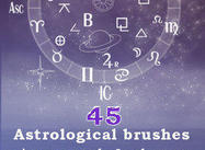 Astrological brushes