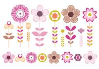 Pink-and-gold-flowers-brush-pack-photoshop-brushes