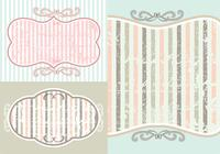 Vintage Photoshop Wallpapers und Brush Pack