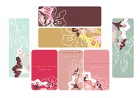 Floral Photoshop Business Card e Banner Pack