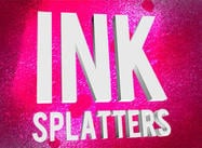 Grungy Ink Splatter Sprays