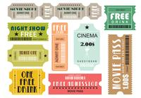 Film und Events Tickets Brush Pack Two