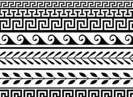 Patterns for greek alphabet characters - PDQpatterns.com