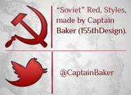 """""""Sowjetische"""" rote Stile"""