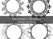 Decoratieve Borstels