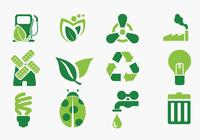Green Eco Icon Brushes