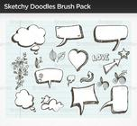 Sketchy-doodle-brush-pack-photoshop-brushes