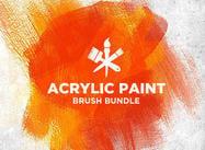 Acrylfarbe