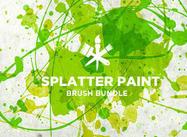 Splatter-paint