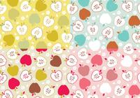 Paquet apple photoshop pattern
