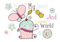 Min Sweet World Craft Brush Pack