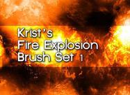Kristus Brandpenseel Set 1