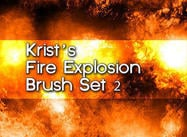 Krist Brush de Fuego Set 2
