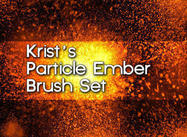Krist's Particle Ember Brushes