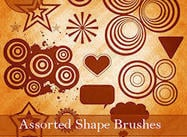 Assorted Form Brushes