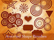 Diverse Shape Brushes