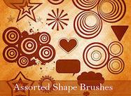 Assorted Shape Brushes