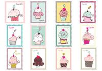 Cupcake Stamp Brush Pack
