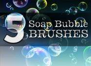 5 brosses à bulle de savon