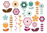 Stylish Blumen Pinsel Pack