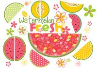 Frische Wassermelone Brush Pack