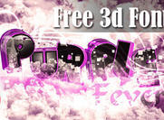 Purple Fever: pack de polices 3d