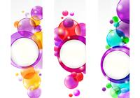 Bubble Header Fondos de pantalla de Photoshop Two