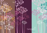 Dill flower photoshop tapet pack
