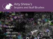 Arty Shrew's Sequins Borstels
