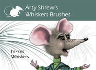 Arty Shrew's Whiskers Borstels