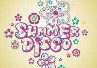 Sommer Disco Tapete und Brush Pack