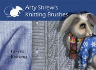 Arty Shrew's Knitting Brushes
