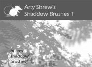 Arty Shrew's Shadows Brushes